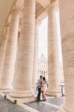 Paare in Rom Stockbilder