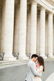 Paare in Rom Stockbild