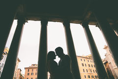 Paare in Rom Lizenzfreies Stockbild