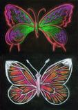 Paare Schmetterlingsdesign stockbilder