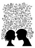 Paare sprechen Stockfotografie