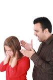 Paare verärgert stockbilder