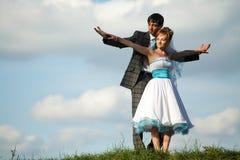 Paare voll der Liebe und des Vertrauens Stockfotografie