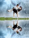 Paare vom Himmel Lizenzfreie Stockbilder