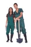 Paare von Garten-Arbeitskräften Lizenzfreie Stockfotografie