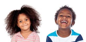 Paare von Kindern Lizenzfreies Stockfoto
