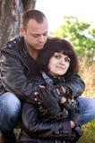 Paare von Liebhabern Lizenzfreies Stockfoto