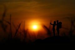 Paare von Touristen Lizenzfreies Stockfoto