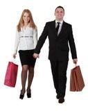Paareinkaufen Stockfotografie