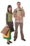 Paareinkaufen Lizenzfreie Stockfotografie