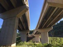 Paaren Sie Brücken Stockfotografie