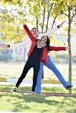 Paargehen Lizenzfreies Stockfoto
