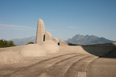 Paarl monument Stock Photography