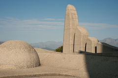Paarl monument Royalty Free Stock Photography