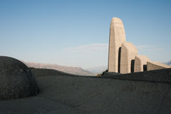 Paarl monument Stock Image