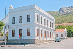 PAARL, SOUTH AFRICA - DECEMBER 11, 2014:  The Town Hall in Paarl Royalty Free Stock Image