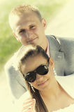 Paarporträt Lizenzfreies Stockbild