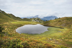 Paarsee, Gastein, Austria Royalty Free Stock Photography