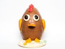 Paasei als kip wordt verfraaid die Stock Fotografie