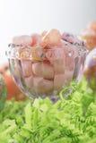 Paaseieren en geleibonen Royalty-vrije Stock Foto