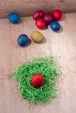 Paaseieren, kleurrijke vakantie Royalty-vrije Stock Afbeeldingen