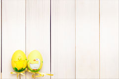 Paaseieren op een stok Royalty-vrije Stock Fotografie