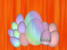 Paaseierenillustratie stock illustratie
