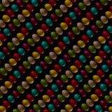 Paaseierenviering, decoratieve kleur, ontwerp, groep, vakantie, kleurrijke voorwerpen, Royalty-vrije Stock Fotografie
