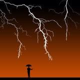 Paasing burza ilustracja wektor