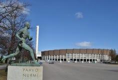 Paavo Nurmi Olympic Stadium Helsinki Imagem de Stock