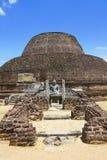 Pabalu Vehera, Polonnaruwa, Sri Lanka Royalty Free Stock Image