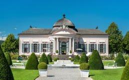 Pabellón barroco en el jardín de la abadía de Melk, Austria Fotos de archivo