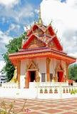 Pabellón budista tailandés Imágenes de archivo libres de regalías
