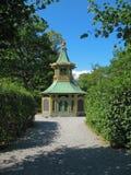 Pabellón chino Drottningholm (Suecia, Estocolmo) imágenes de archivo libres de regalías