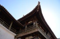 Pabellón chino en Dunhuang Imágenes de archivo libres de regalías