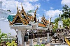 Pabellón de Bell en templo tailandés Imagen de archivo libre de regalías