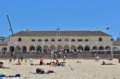 923/5000 pabellón de Bondi, playa de Bondi, Sydney Imagen de archivo libre de regalías
