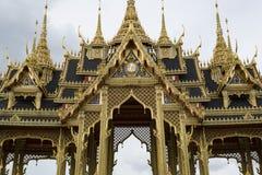 Pabellón de Borommangalanusarani en el trono Pasillo, vagos de Ananta Samakhom Foto de archivo libre de regalías