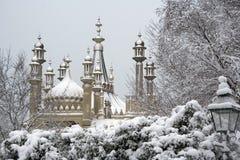 Pabellón de Brighton en invierno Imagen de archivo libre de regalías