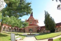 Pabellón de la música de Rondel, Jindrichuv Hradec Imagen de archivo