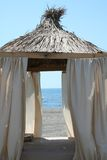 Pabellón de la playa Imagenes de archivo
