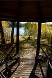 Pabellón de madera Imagen de archivo