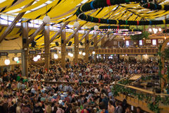 Pabellón de Oktoberfest Fotografía de archivo libre de regalías