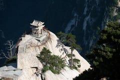 Pabellón del ajedrez en la montaña de Huashan, China Imagen de archivo
