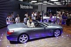 Pabellón del Benz de Mercedes Foto de archivo