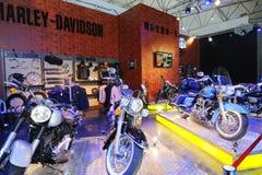 Pabellón del davidson de Harley Fotos de archivo