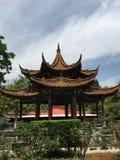 Pabellón del estilo chino Foto de archivo libre de regalías