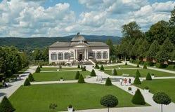 Pabellón del jardín de la abadía de Melk Imagen de archivo