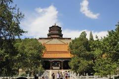 Pabellón del palacio del summper Imagen de archivo