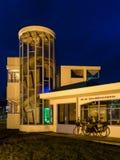 Pabellón del sanatorio viejo Zonnestraal en Hilversum, Holanda Imagen de archivo